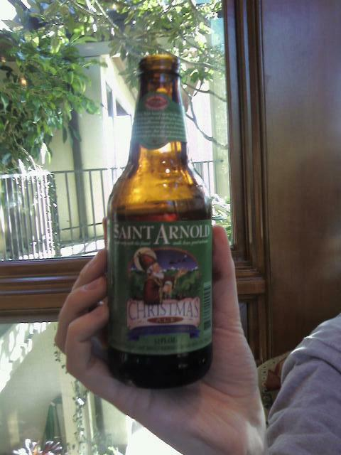 Review: Saint Arnold Christmas Ale – Drinkhacker