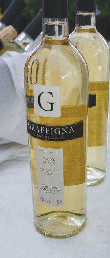 2007 Graffigna Centenario Pinot Grigio