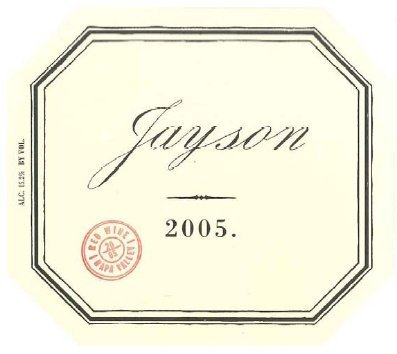 2005 Pahlmeyer Jayson Red