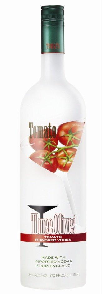 tomato vodka 104x300 Instant Bloody Mary? Three Olives Tomato Vodka ...