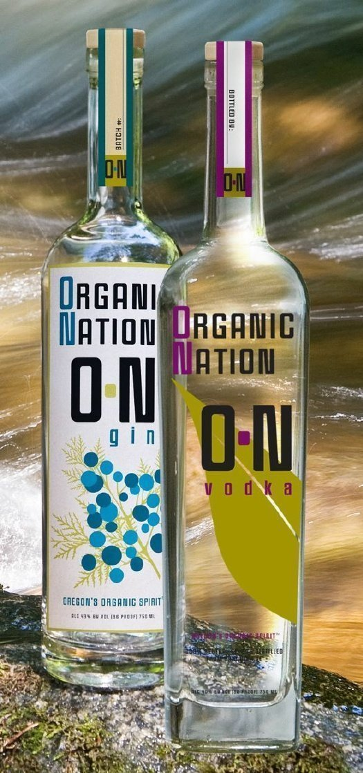 Organic Nation O-N Vodka