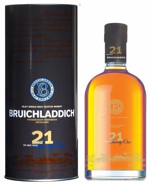 Bruichladdich 21 Years Old