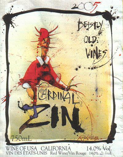 2006 cardinal zin wine