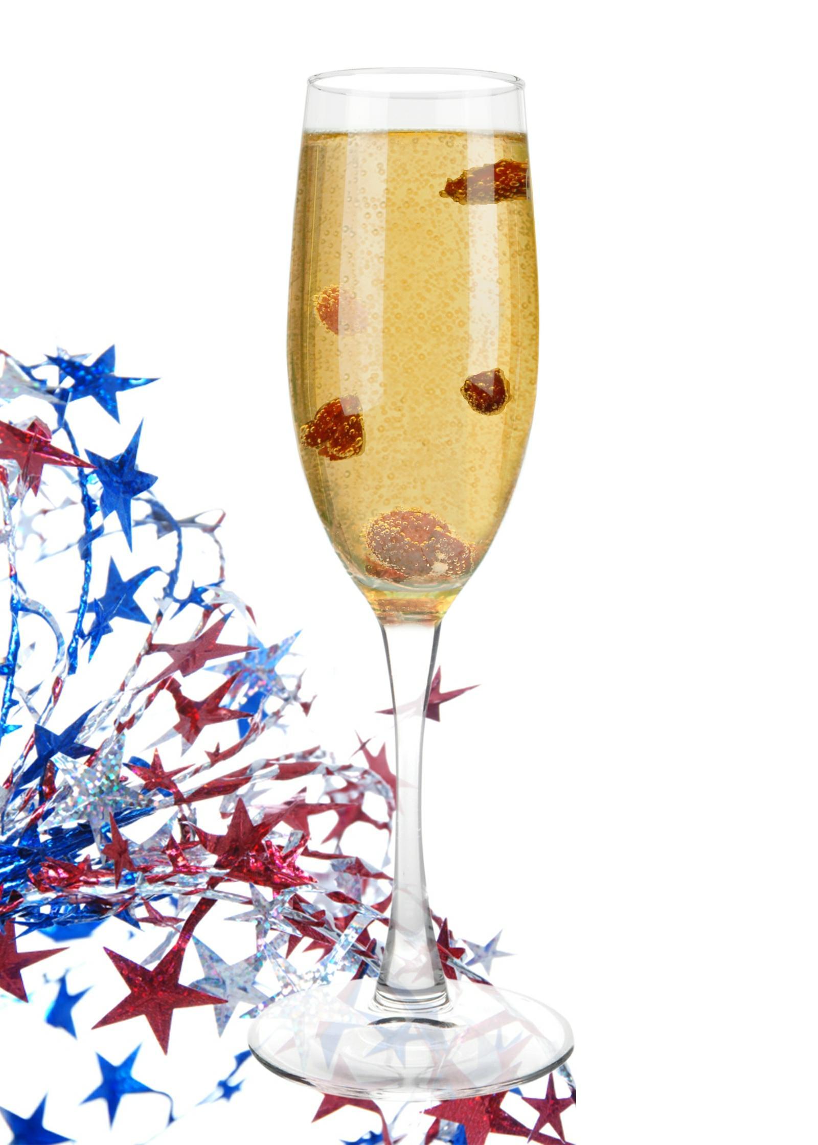 Tuaca champagne cocktail dress