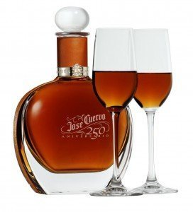 Jose Cuervo 250 Aniversario bottle and serve