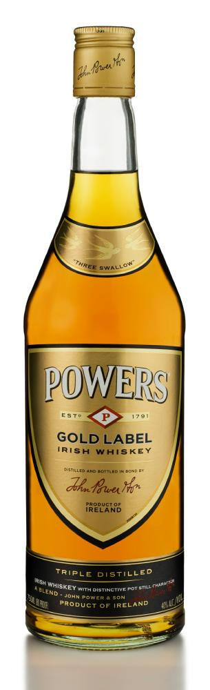 powers gold label irish whiskey