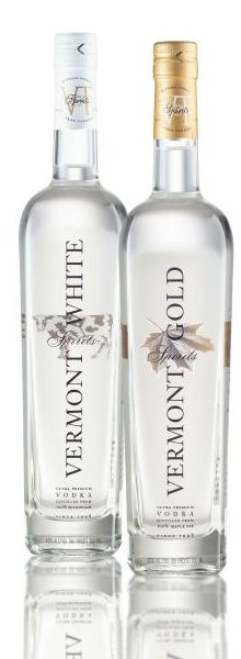 vermont gold and white vodka