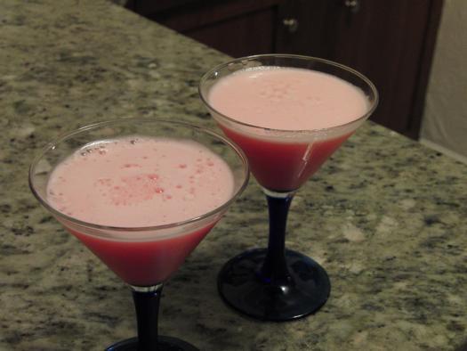 pink squirrel martini