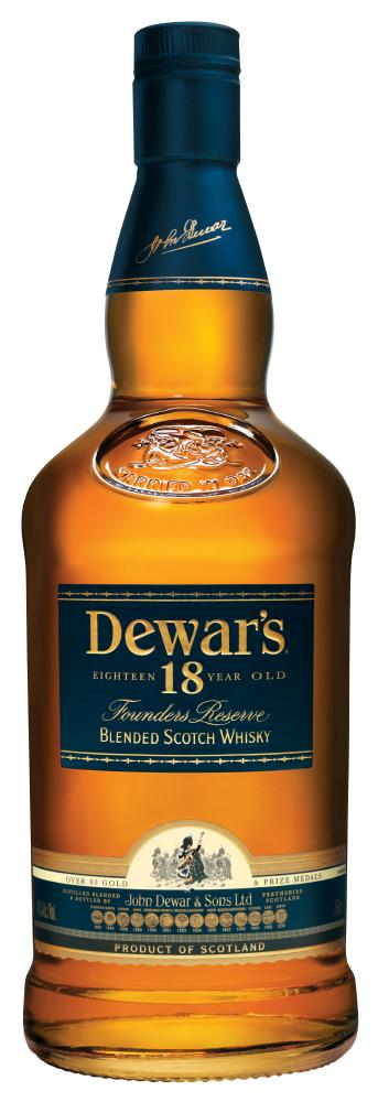 dewar's18 years old