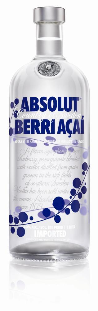 Absolut Berri Açai Vodka