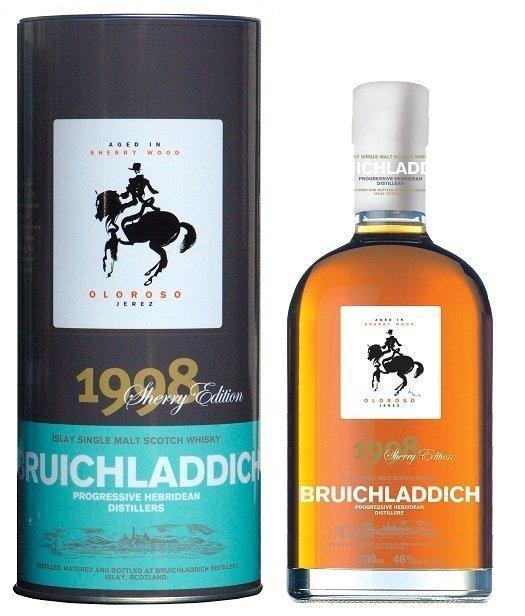 Bruichladdich Oloroso Sherry Edition 10 Years Old 1998