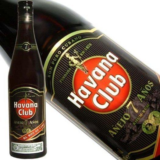 Havana Club Anejo Rum 7 Years Old