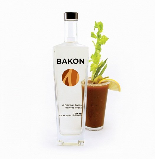 Review bakon bacon flavored vodka drinkhacker for Flavored vodka mixed drinks