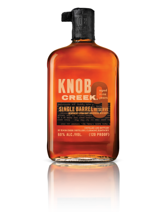 Bottle on Transparent - Knob Creek Single Barrel Reserve