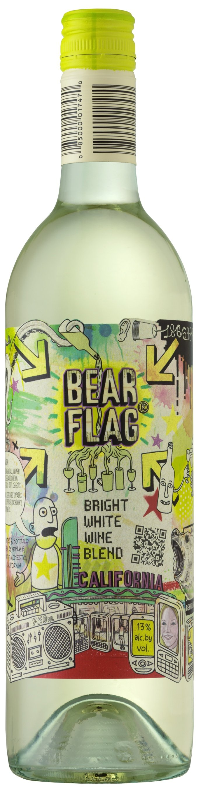 NV Bear Flag Bright White Wine Blend
