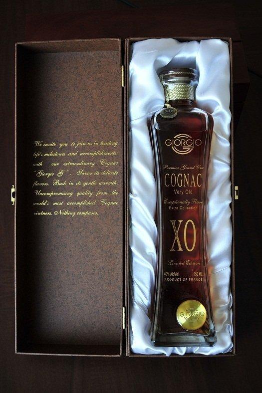 Emperor's Brand Giorgio G XO Limited Edition Cognac
