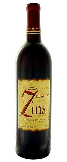2008 7 Deadly Zins Zinfandel Lodi