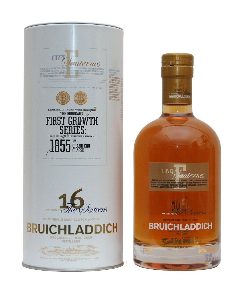 Bruichladdich 16 Years Old First Growth Series: Cuvee E Chateau d'Yquem Sauternes Finish