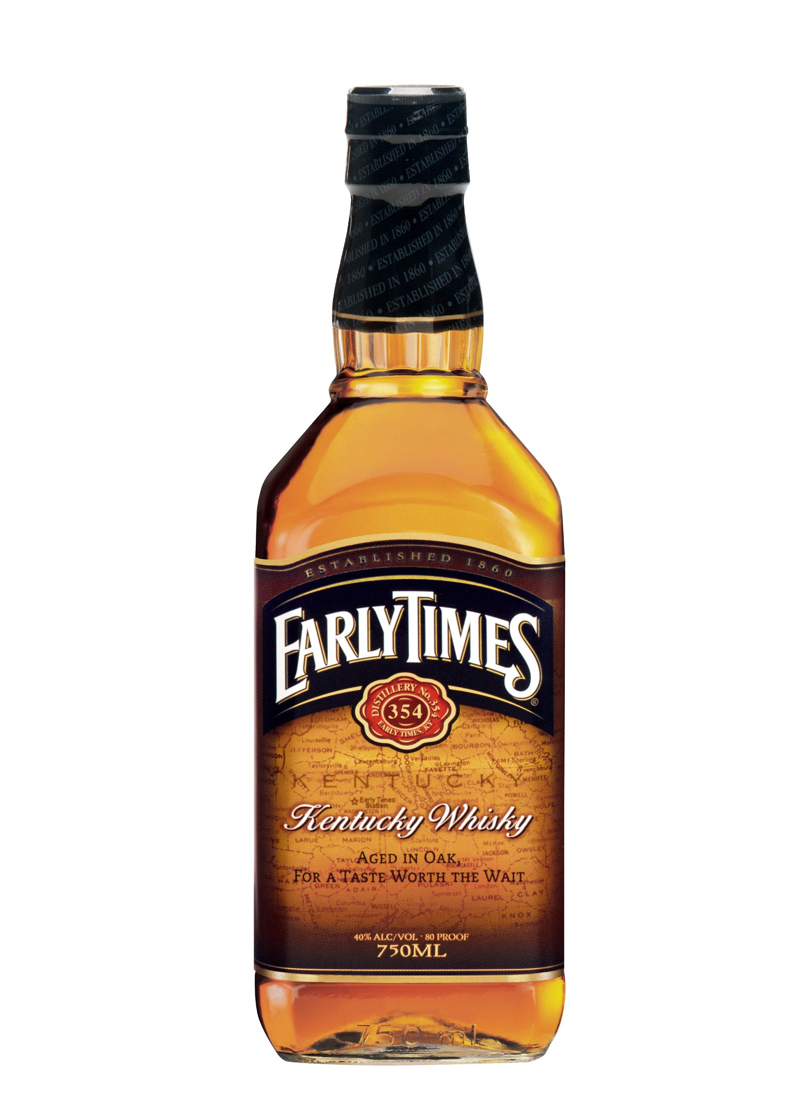 Review Early Times Kentucky Whisky And 354 Bourbon