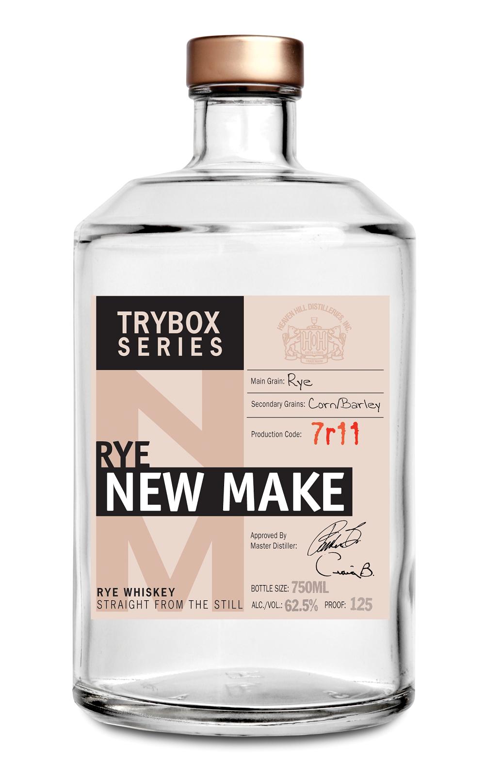 Trybox Series Rye New Make Whiskey