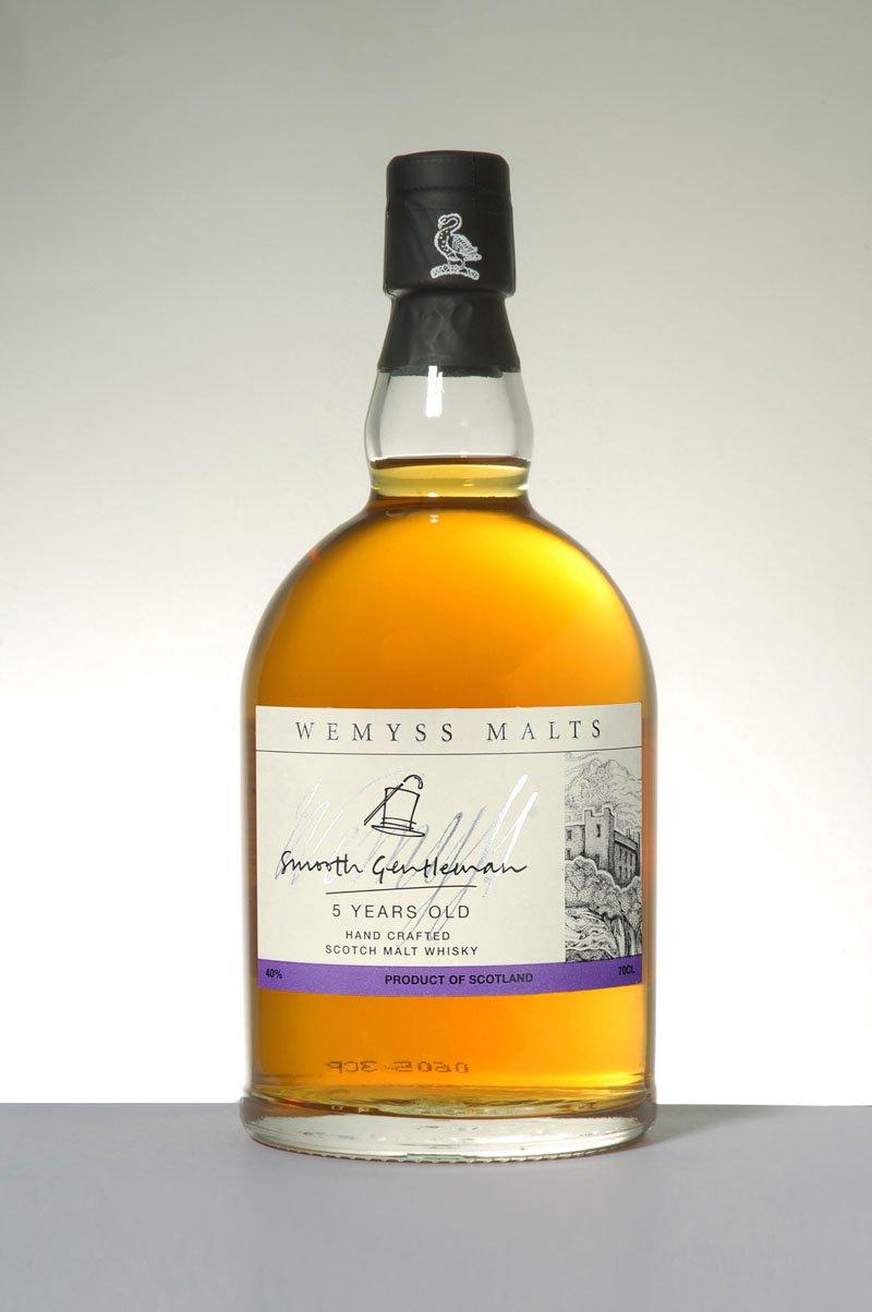 Wemyss Malts Smooth Gentleman 8 Years Old Scotch Malt Whisky