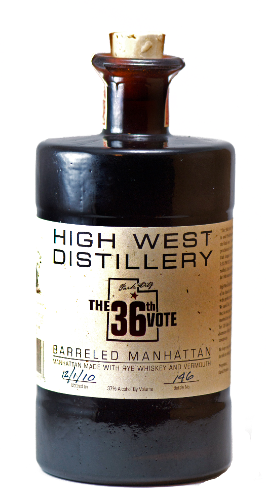 Review High West Barreled Manhattan The 36th Vote