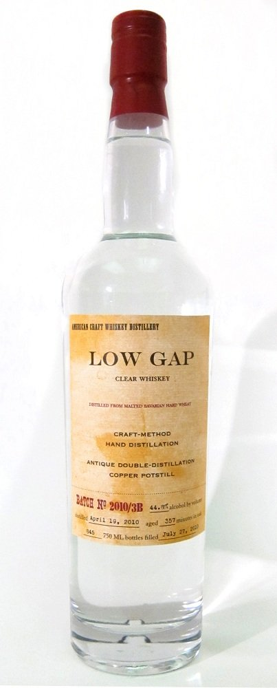 Craft Distillers Low Gap White Wheat Whiskey