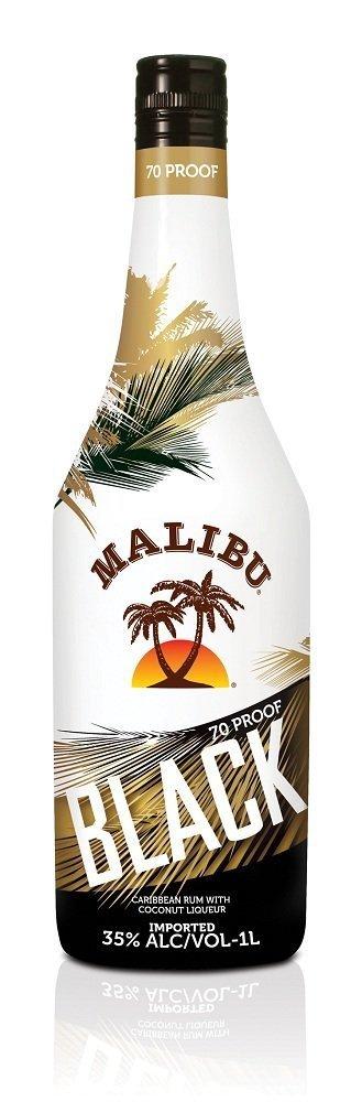 Malibu Black Coconut Rum