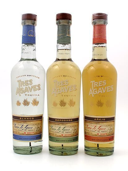 Tres Agaves Blanco Tequila
