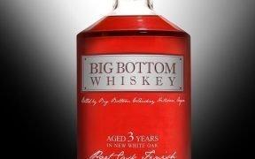 Big Bottom Whiskey 3 Year Port Cask Bottle Image