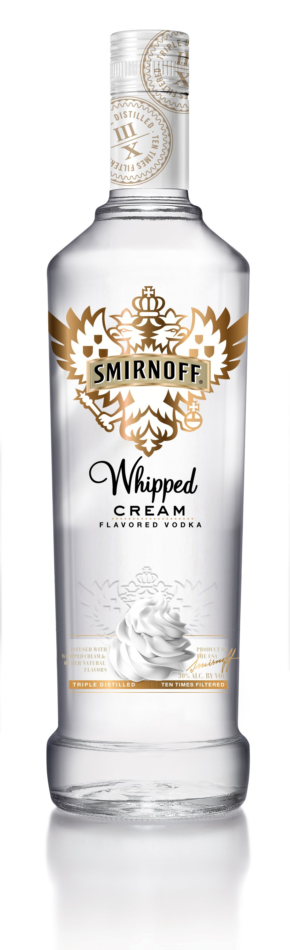 Review Smirnoff Whipped Cream And Fluffed Marshmallow Vodkas Drinkhacker