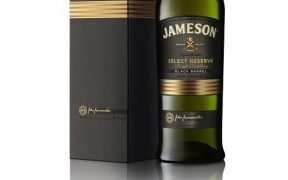 jameson black barrel with box