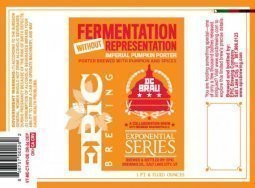 Epic Brewing Fermentation Without Representation