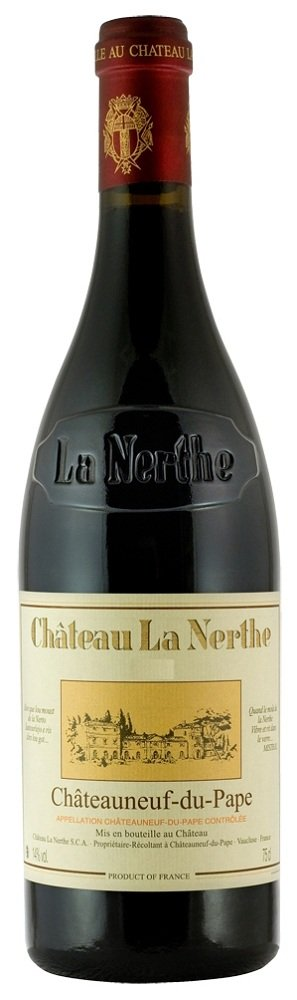 Review 2007 chateau la nerthe chateauneuf du pape for Chateau la nerthe