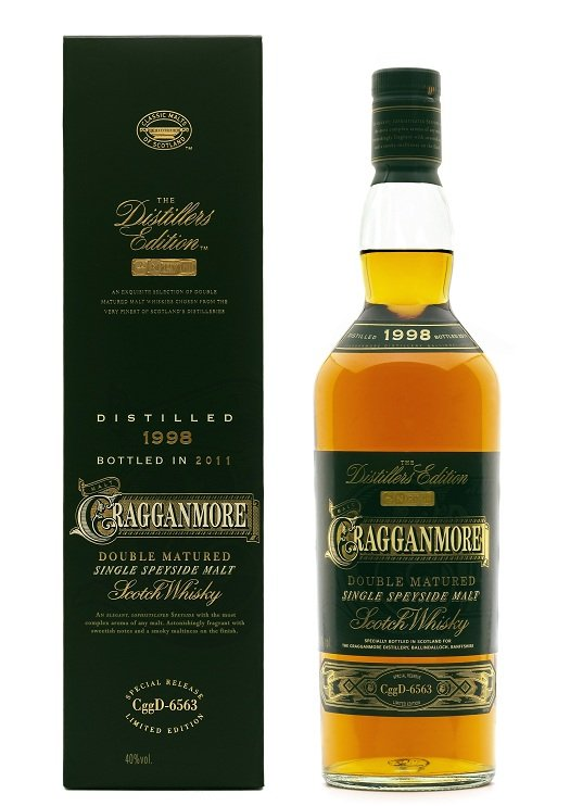 Cragganmore Distillers Edition 2011 - Distilled 1998