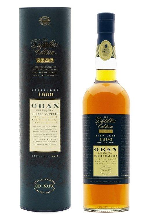 Oban Distillers Edition 2011 - Distilled 1996