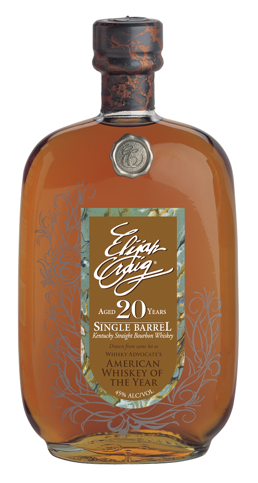 Elijah Craig Single Barrel Bourbon 20 Years Old