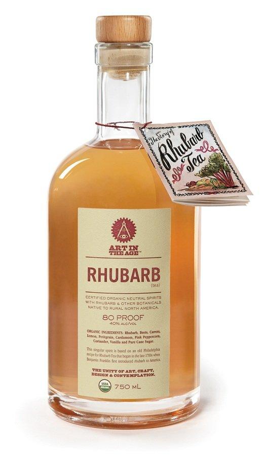 Review Art In The Age Rhubarb Tea Liqueur Drinkhacker