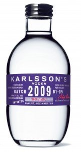 Karlsson's Gold 2009 solist vodka
