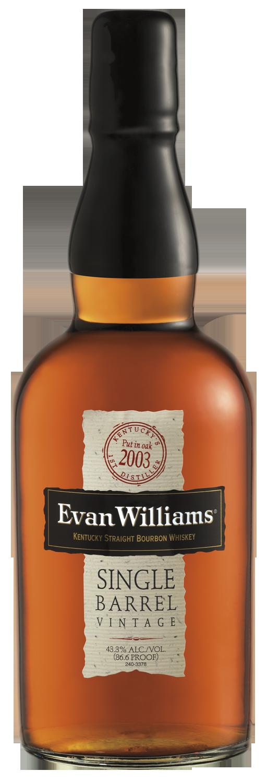 Evan Williams Single Barrel Bourbon 2003 Vintage
