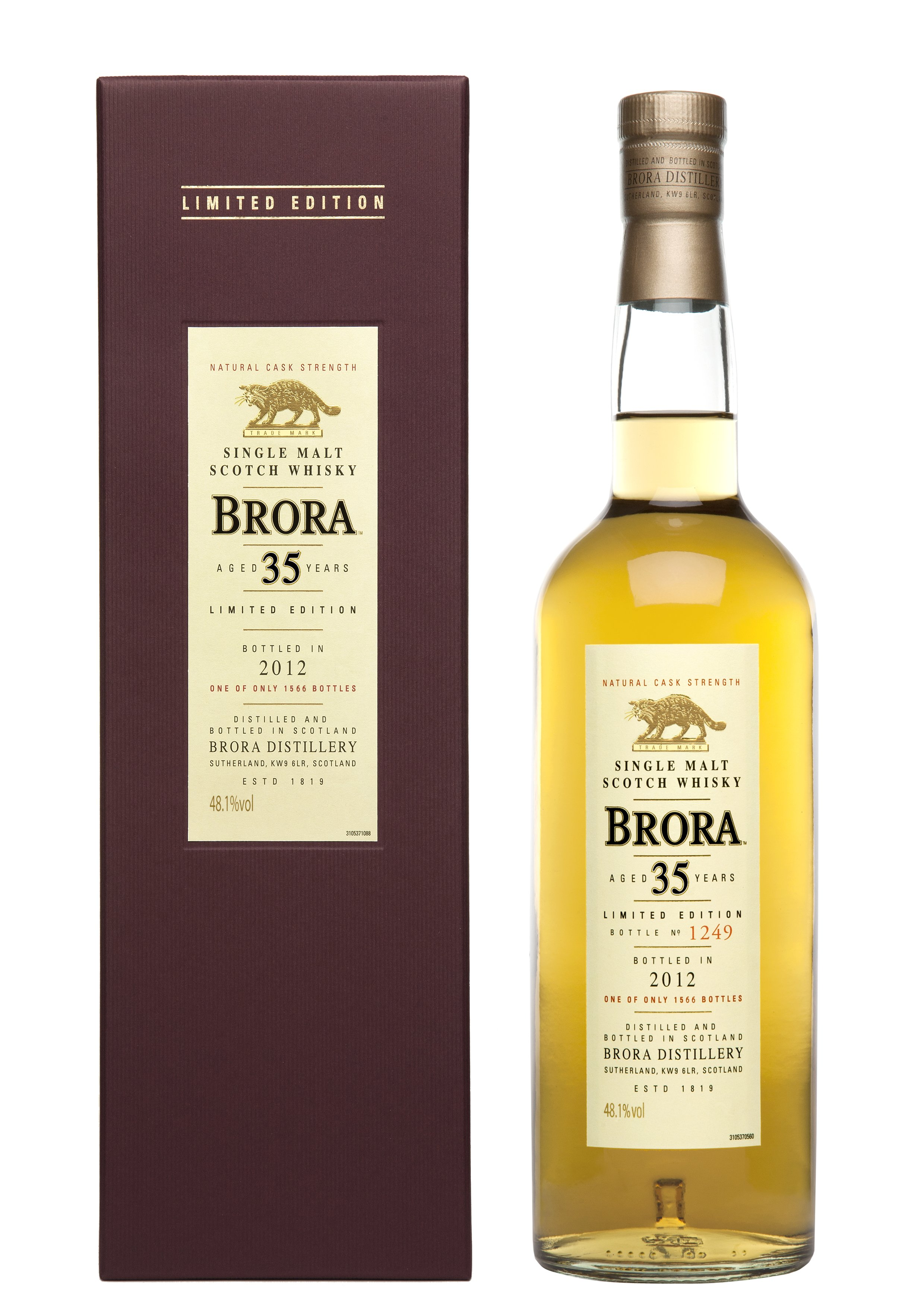 Brora 35 Years Old Limited Edition 2012