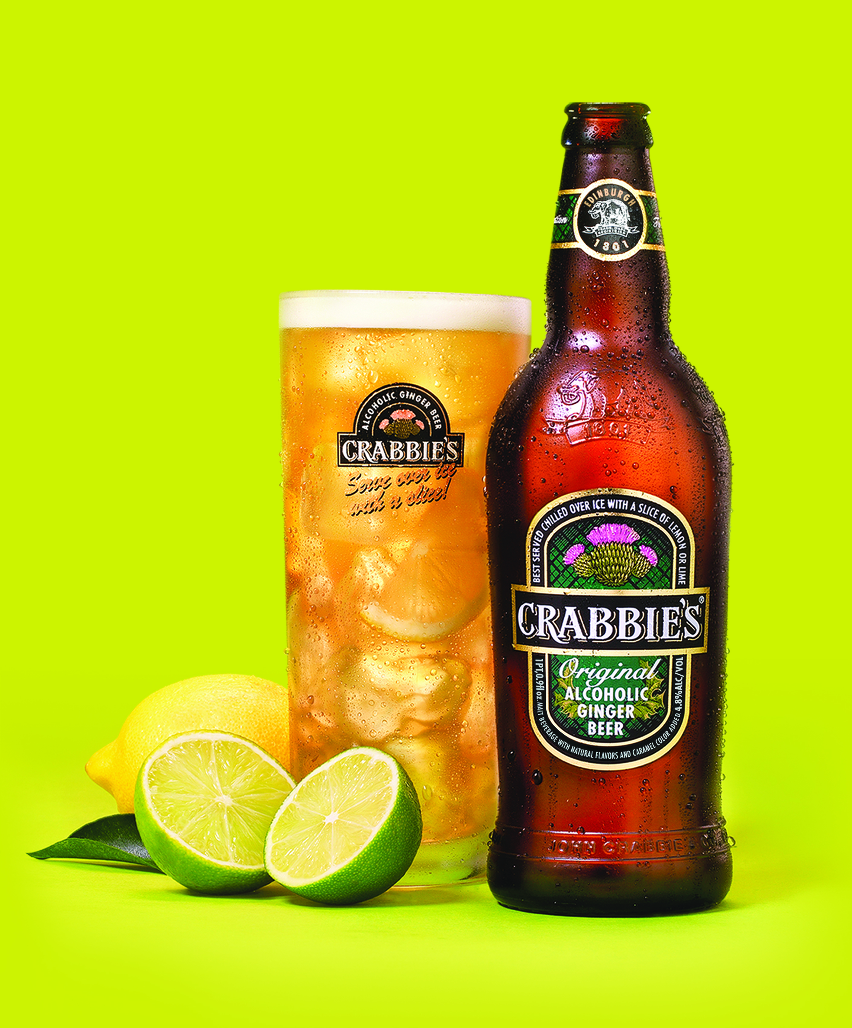 Review: Crabbie's Original Alcoholic Ginger Beer – Drinkhacker