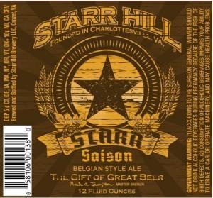 Starr Hill Saison