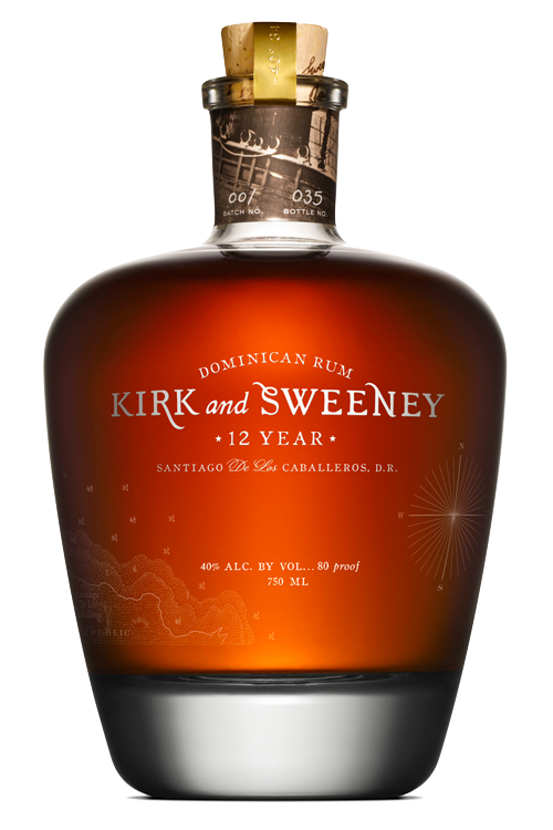 Kirk and Sweeney Dominican Rum 12 Years Old