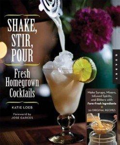 shake stir pour book