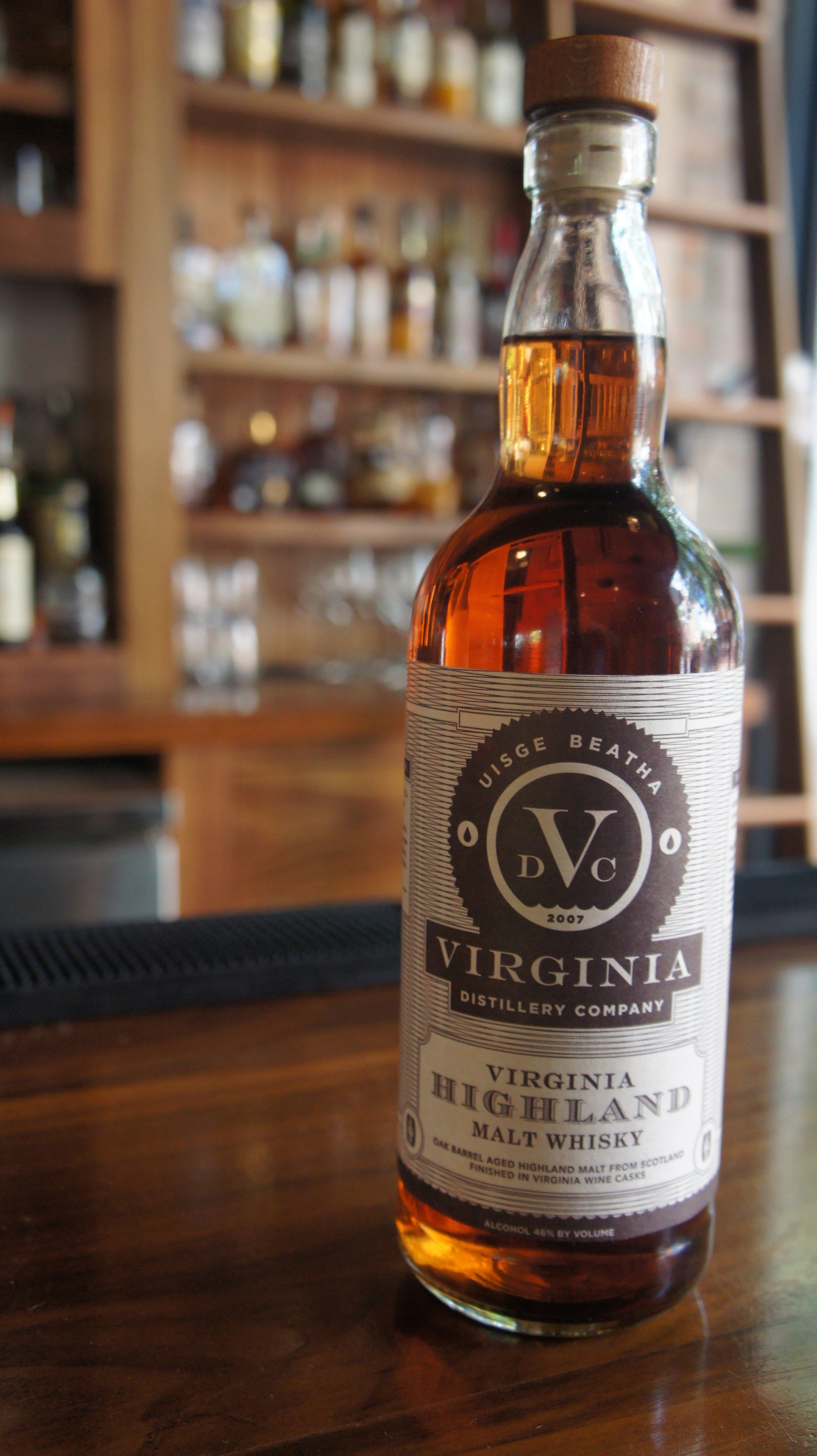 Virginia Distillery Virginia Highland Malt Whisky