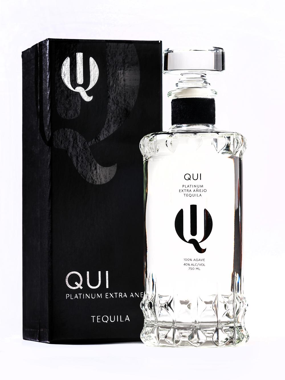 Qui Platinum Extra Anejo Tequila