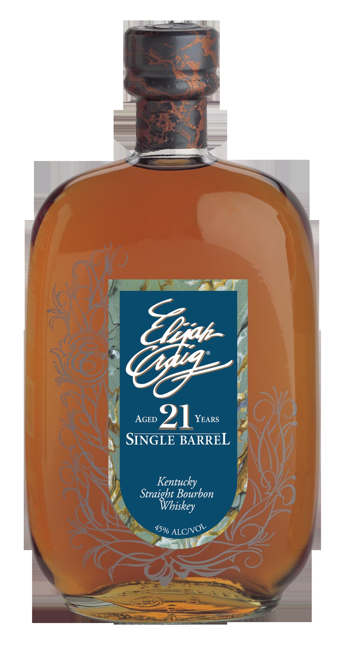 Elijah Craig Single Barrel Bourbon 21 Years Old