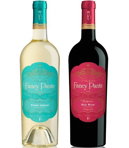 review wines of fancy pants 2013 releases drinkhacker With fancy wine labels