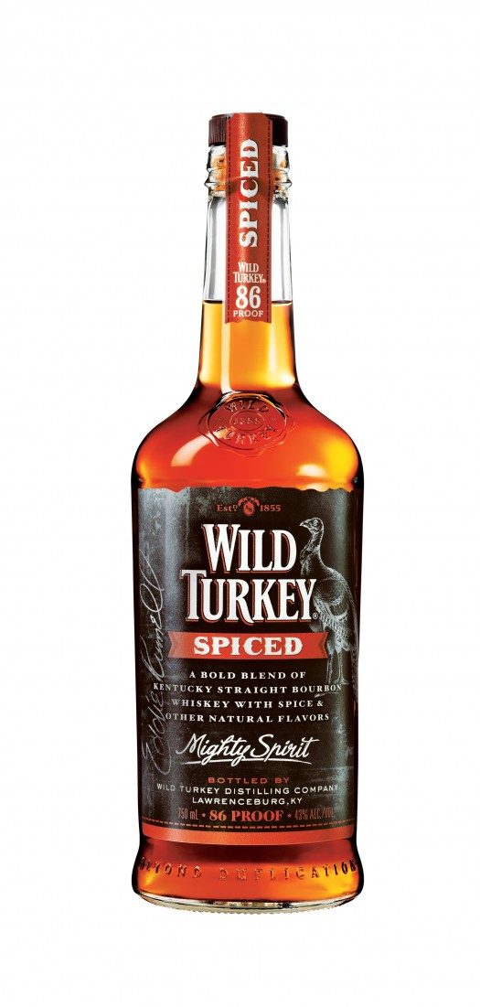 Wild Turkey Spiced Bottle Shot